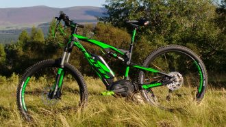 This Is A Full Suspension Pedal Ist Bike Which Uses Motor To You As And Multiplies The Effort Put Into It